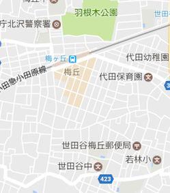 Umegaoka_map