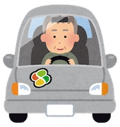 Old-car-driver