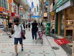 Musashikoyama-arcade