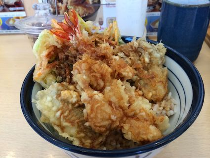 Matsutake_tenya